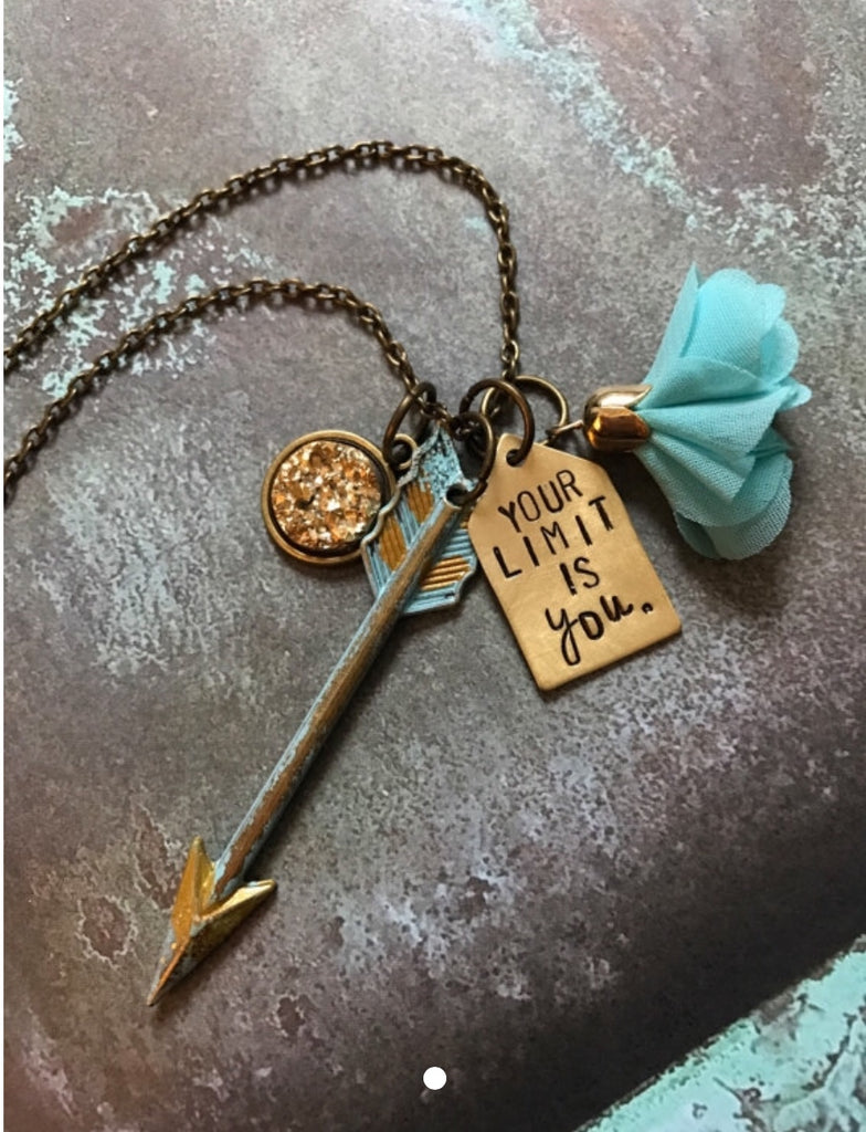 Your Limit Is You Necklace