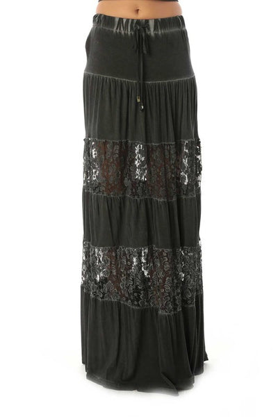 Broken Halo Maxi Skirt