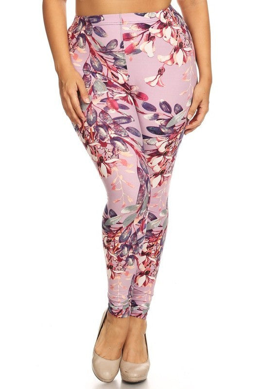 Curvy/Tall~ Lavender Floral