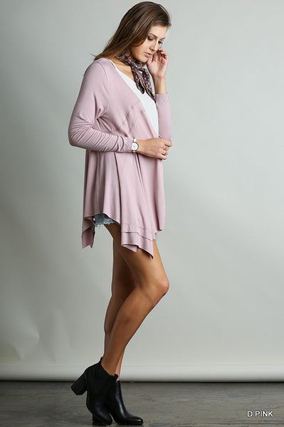 Tickled Pink Swing Cardigan