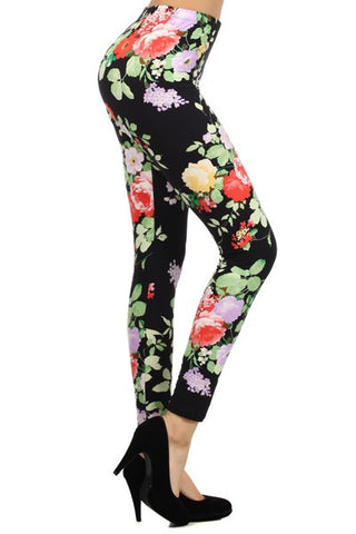 Regular Leggings~ Floral Print