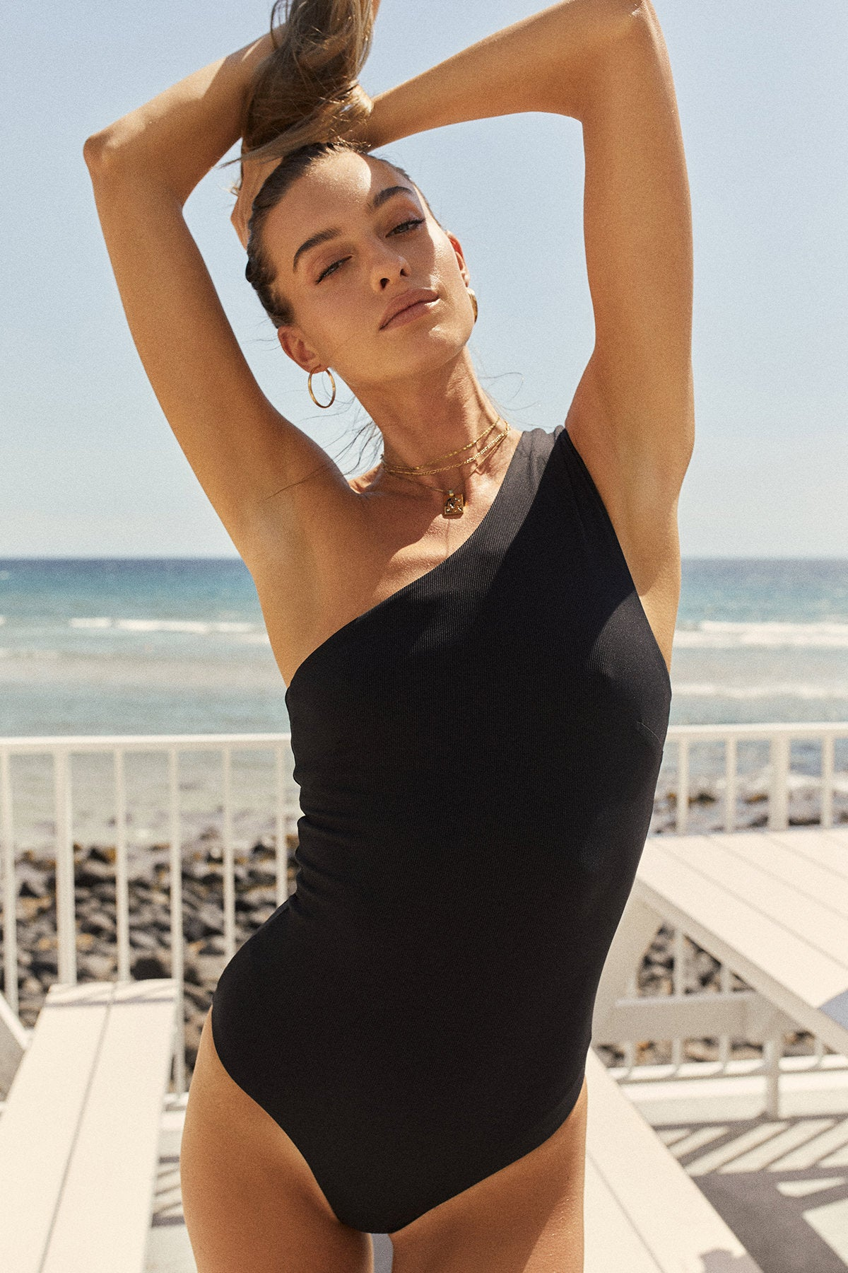 Summer Wine: Black Rib / One-Piece