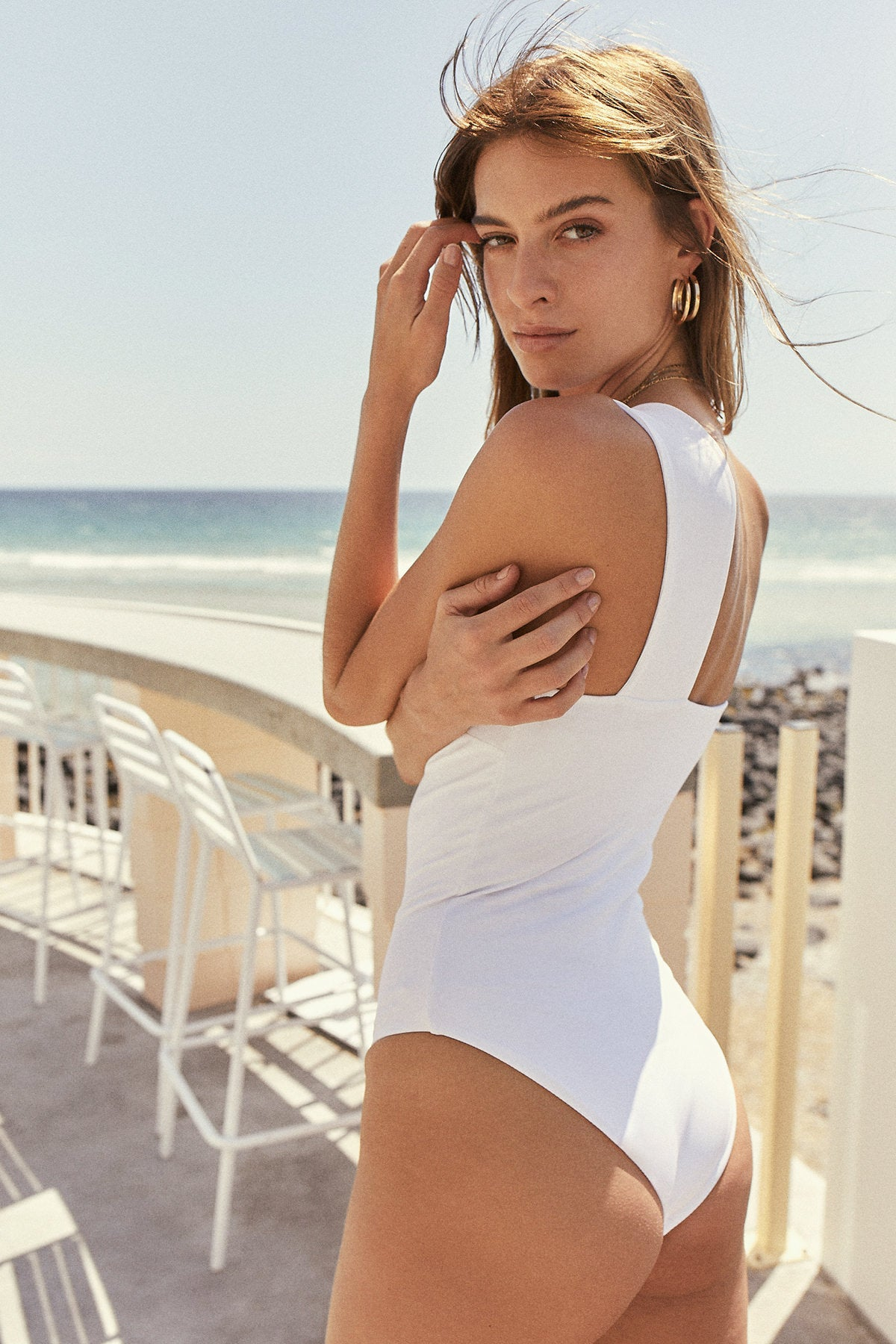 Summer Wine: White Rib / One-Piece