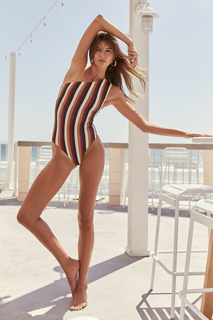 Summer Wine: Stripe / One-Piece