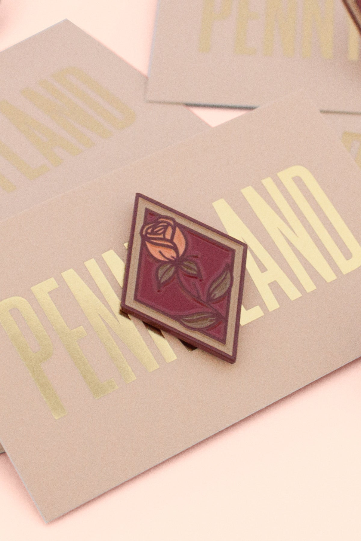 The Diamonds Enamel Pin