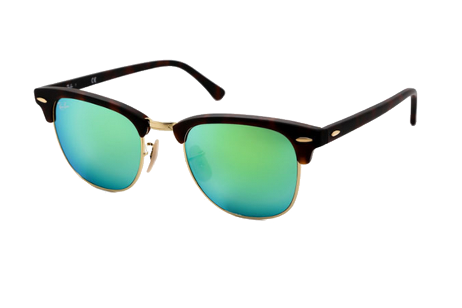 rb3016  Ray-Ban RB3016 Clubmaster Flash Lenses 114519 \u2013 Get Glasses