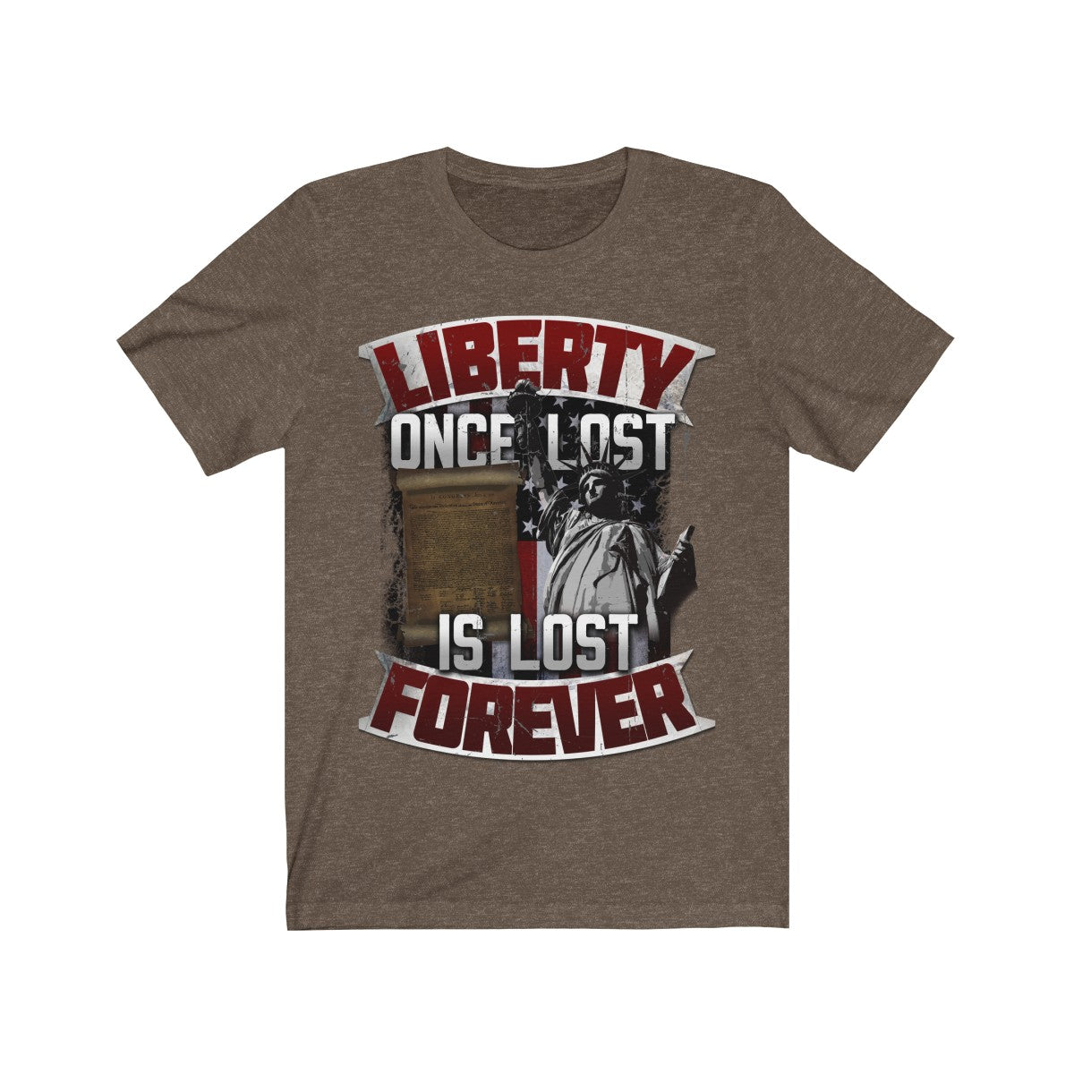 Liberty Once Lost - Unisex Jersey Short Sleeve Tee