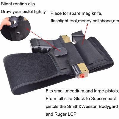 Concealed Pistol Holsters - 1 Size Fits All