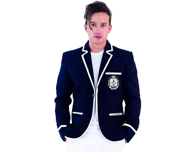 RaVenClan Cricket Blazer | Dark Navy Blue