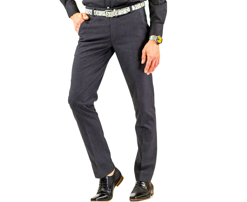 Charcoal Suit Pants | matches Bond Smart Suit