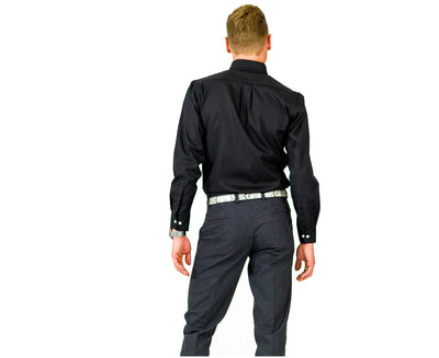 Charcoal Suit Pants | Blade Sleeve Suit