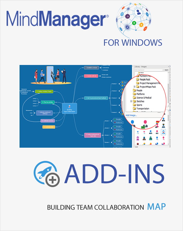 Develop a Building Team Collaboration MindManager Map