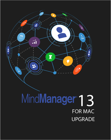 Mindjet MindManager MAC 13 Commercial Upgrade