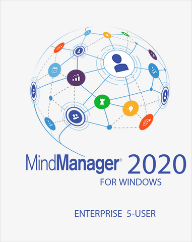 Mindjet MindManager 2020 Enterprise 5 User Pack - Mindlogik