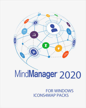 Icons4maps Business Pack One for Mindjet MindManager 2020