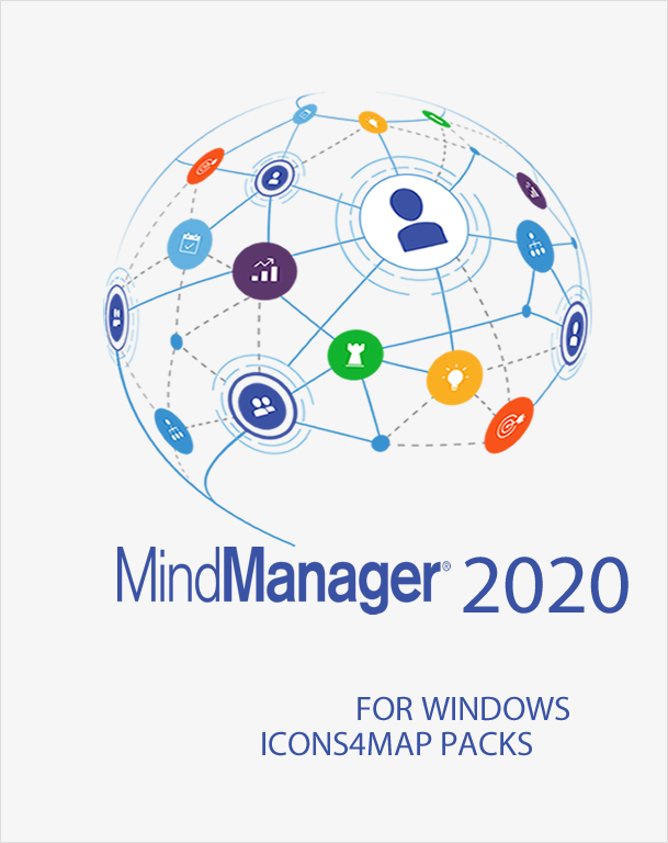 Icons4maps Business Pack Two for Mindjet MindManager 2020