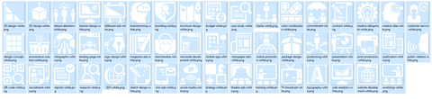 Icons4maps Complete Icons and Images Pack for Mindjet MindManager 18,MindManager add-ins,Mindlogik