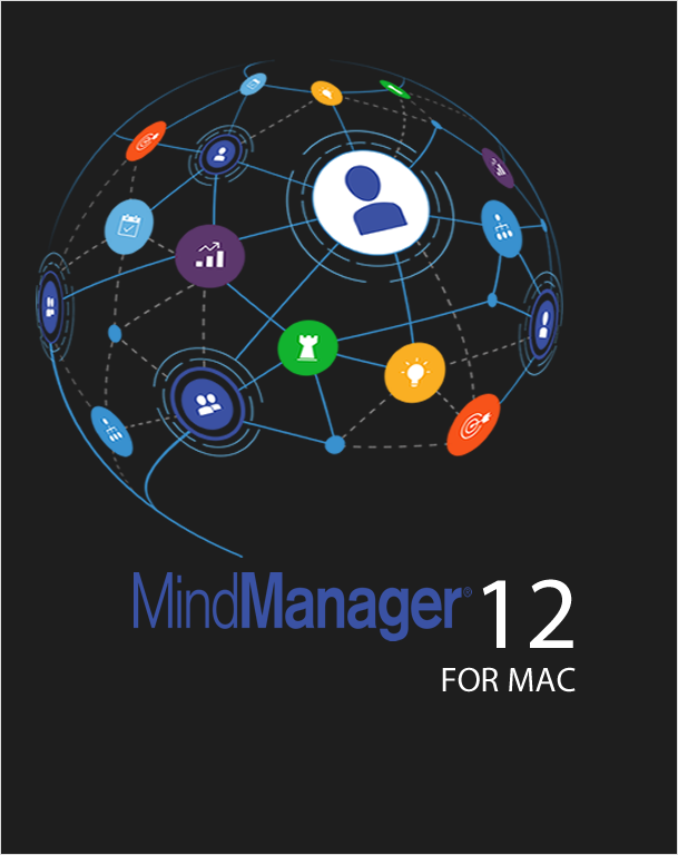 Mindjet MindManager MAC 12 Government,Mind Mapping,Mindjet