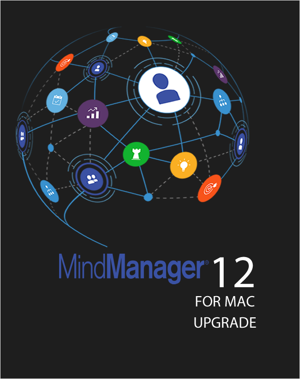 Mindjet MindManager MAC 12 Government Upgrade,Mind Mapping,Mindjet