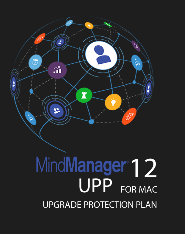 Mindjet MindManager MAC 12 Upgrade Protection Plan - Government