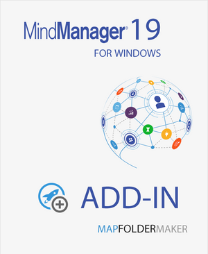 MapFolderMaker for Mindjet MindManager 19,MindManager add-ins,Mindlogik