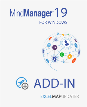 ExcelMapUpdater for Mindjet MindManager 19,MindManager add-ins,Mindlogik