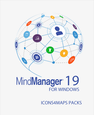 Icons4maps Project Management Pack for Mindjet MindManager 19,MindManager add-ins,Mindlogik