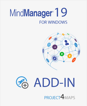 Project4Maps for Mindjet MindManager 19  5-user Team Version,MindManager add-ins,Mindlogik