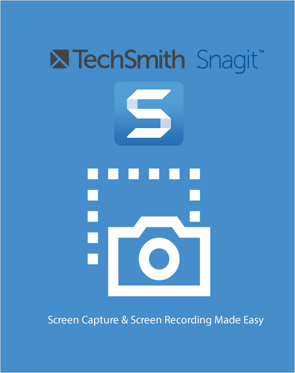 Upgrade TechSmith Snagit 2019,Visual Image Capture and Management,Techsmith