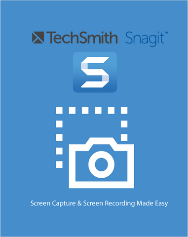 TechSmith Snagit 2019,Visual Image Capture and Management,Techsmith