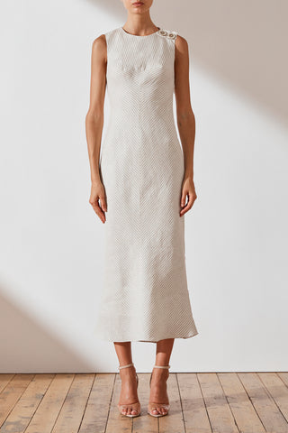 Shaw Bias Midi Dress