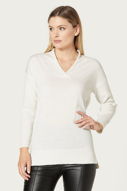 Merino Relaxed V Jumper
