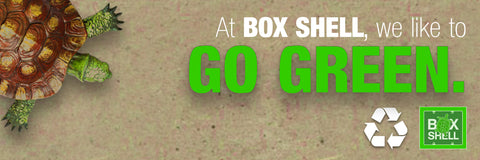 Going Green at BOX SHELL