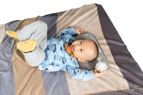 Agibaby Hypoallergenic 3D Air Mesh Bacteria-Free Cooling/ Breathable Toddler Pillow- Shiny Star