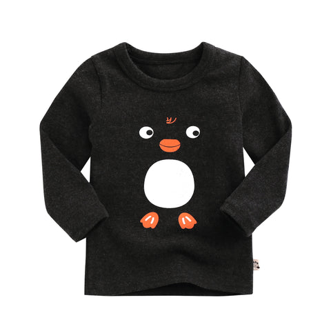 "Agibaby Boys and Girls Infant & Toddler long Sleeves Tshirts ""Penguin"""