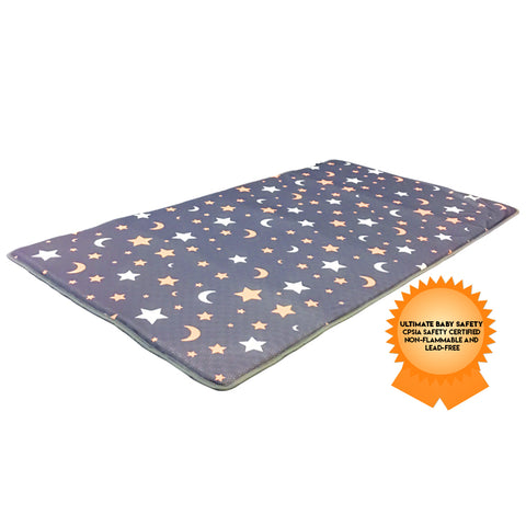 Agibaby Hypoallergenic 3D Air Mesh Cool Mat for Toddler Crib - Shiny Star