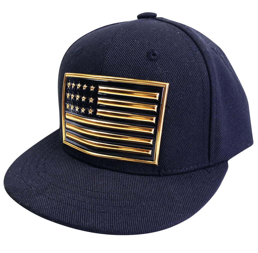 American Flag Kids Baseball Hat