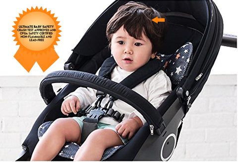 Agibaby 3D Air Mesh Premium Cool Seat Liner - Shiny Star