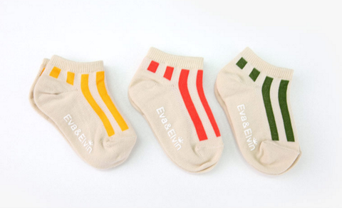 Mesh Infant & Toddler Non-Skid Ankle Socks