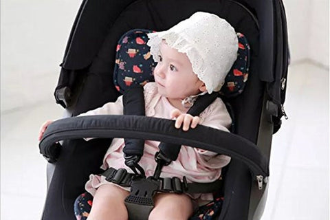 Bebenuvo 3D Air Mesh & Microfiber Baby carseat and stroller Slim Liner