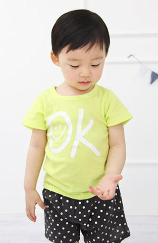 "Boys & Girls ""OK"" Short sleeve tee"