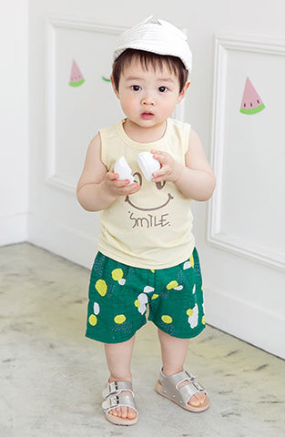 Boys & Girls Lime Shorts