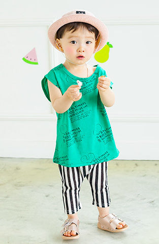 Boys & Girls Striped Cool Summer Pants