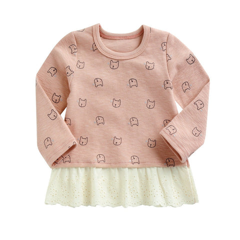 Agibaby Girls Infant & Toddler Animal T shirts