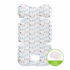 Image of Agibaby Bebenuvo 3D Air Mesh Premium Cool Seat Liner- Blue Elephant- 22 unique designs