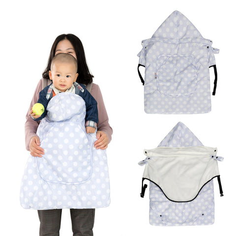 "Agibaby Universal Hoodie All Season Carrier Cover for Baby Carrier Warmer / Stroller-  Free 30 day Trial enter ""FREETRIAL"" at checkout"