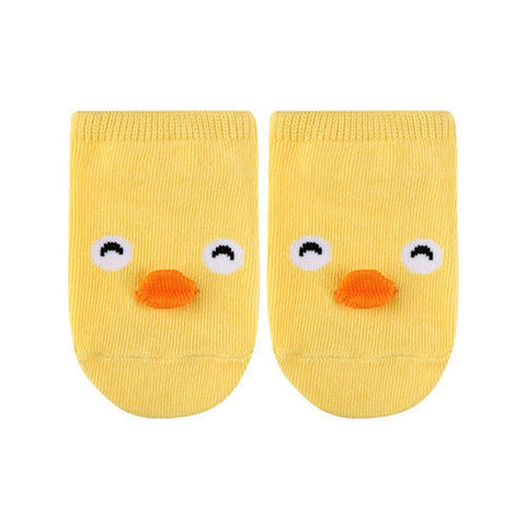 Cute Animal Ankle Socks- Chick