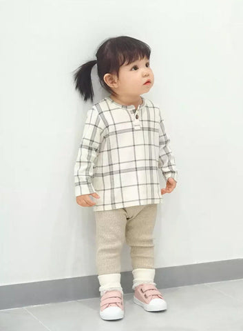 Agibaby Kkakkungnoriter Boys & Girls Baby Cotton Corduroy Leggings Made in South Korea