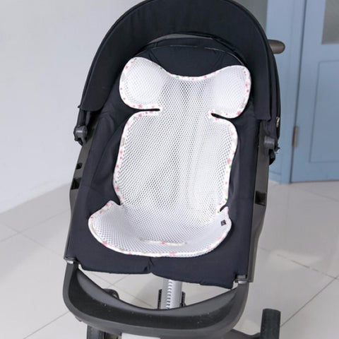 Agibaby Q 3D Air Mesh Basic Cool Seat Liner - Flower Garden