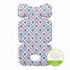 Image of Agibaby 3D Air Mesh Premium Cool Seat Liner- Blue Elephant- 22 unique designs